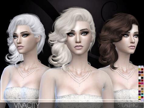 vanity female hair by stealthic at tsr sims 4 updates vivacity female hair by stealthic at tsr 187 sims 4 updates