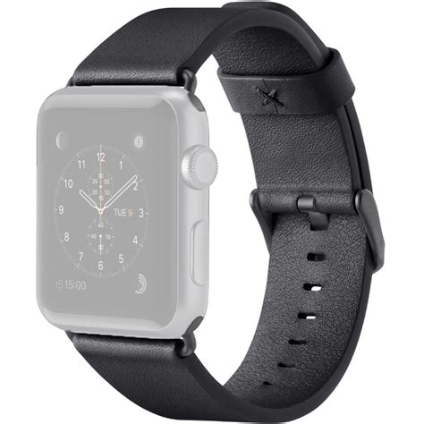 Monochrome Leather Band For Apple 38mm 10 belkin classic leather band for apple f8w731btc00 b h