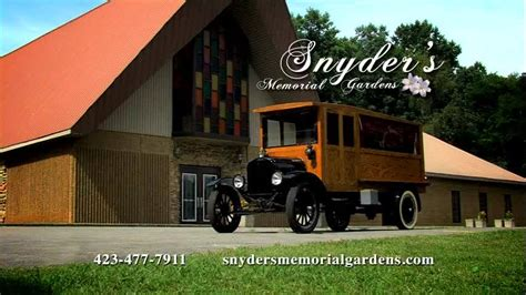 snyder s memorial gardens inc gray tennessee funeral home