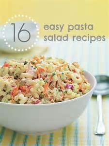 easy pasta salad recipes potato salad picnics and easy