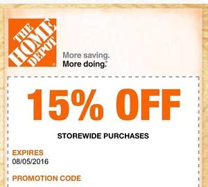 home depot printable coupons home depot promo codes coupon codes