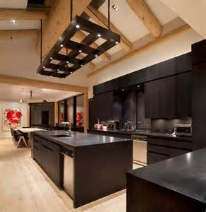 black kitchen furniture black kitchen furniture and edgy details to inspire you
