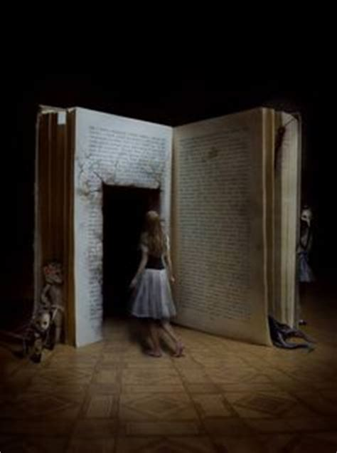 pictures into books surreal on photo manipulation portal and