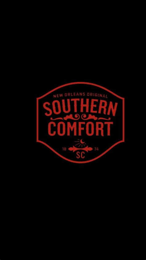 southern comfort alcohol black background liquor logos