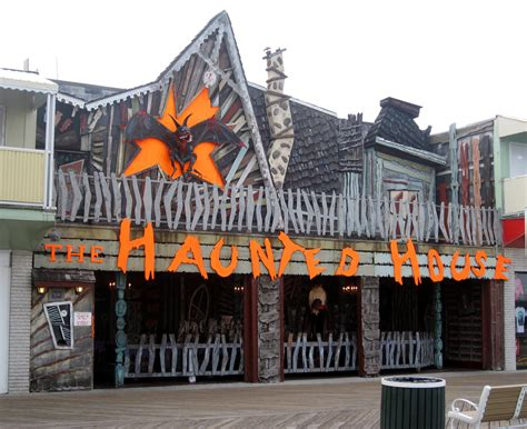 haunted houses in maryland ocean city trimper rides the haunted house entrance a photo on flickriver
