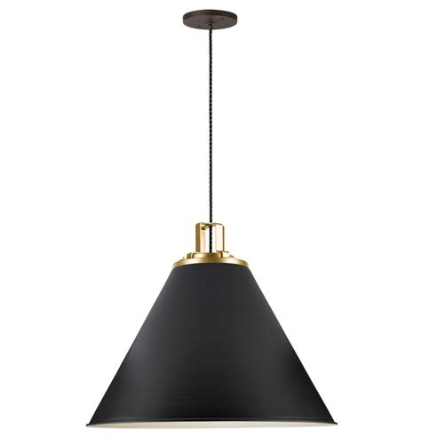 Cone Pendant Light Butte 24 Quot Cone Pendant Rejuvenation