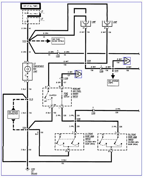 2000 gmc jimmy wiring diagram repair guides wiring diagrams autozone at 2000 gmc