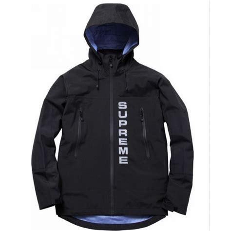 Jaket Suprame supreme 3m parka reflective wind jacket black