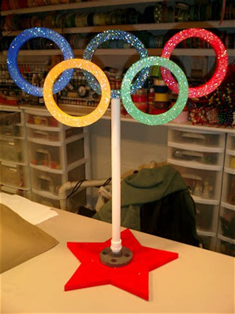 Olympic Decorations by Olympics Centerpieces Invitations Ideas