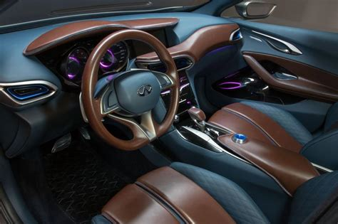 infiniti qx30 interior infiniti qx30 concept revealed pictures auto express