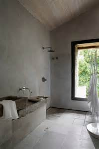 concrete shower concrete bathroom sinks that make a strong statement