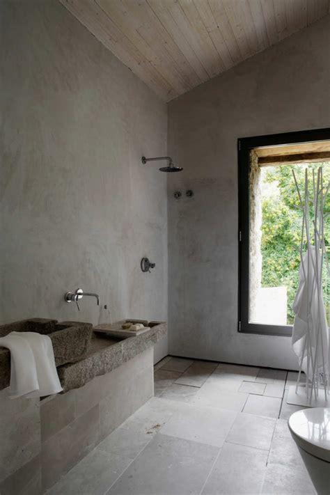 concrete bathroom sinks    strong statement