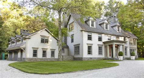 a colonial style estate for sale in bedford new york colonial revival home traditional home exterior paul
