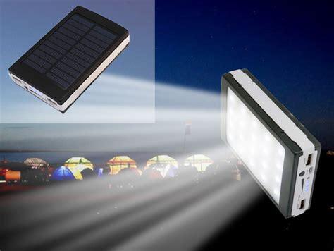 Power Bank Tenaga Matahari 20000 Mah jual solar powerbank senter led 50000 mah tenaga matahari pandaan grosir