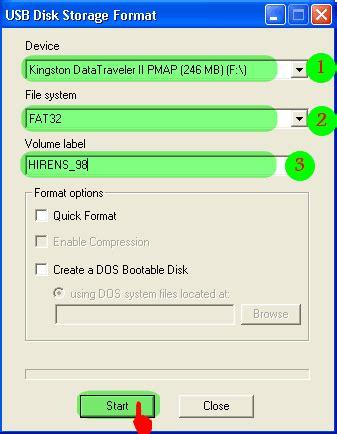 membuat hiren s boot usb flashdisk 2