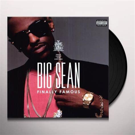 big sean album big sean finally famous the album vinyl