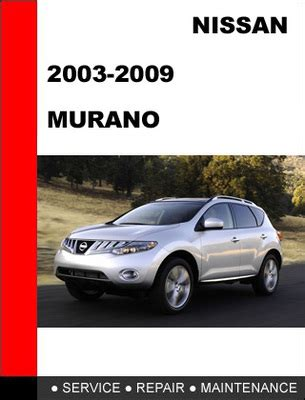old car repair manuals 2010 nissan murano engine control nissan murano 2004 official workshop service manual download service repair manual pdf download
