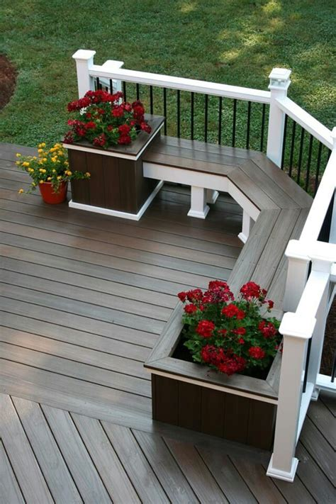 Deck Planters For Privacy by 25 Best Ideas About Deck Planters On Deck