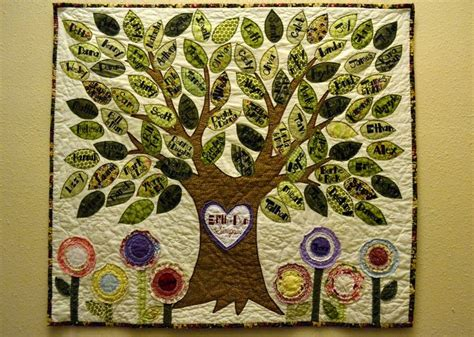Family Tree Quilt Pattern by Family Tree Quilt Quilting