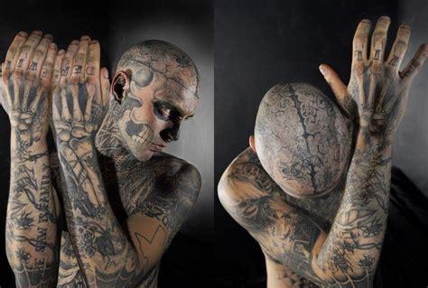 zombie boy tattoo rick genest cosmonavigator s