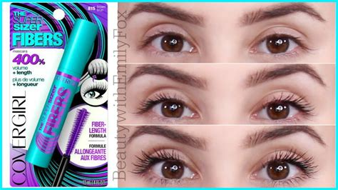Covergirl Sizer Mascara new covergirl the sizer fibers mascara
