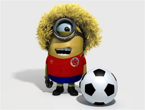 imagenes de minions vestidos de equipos de futbol minion carlos el pibe valderrama