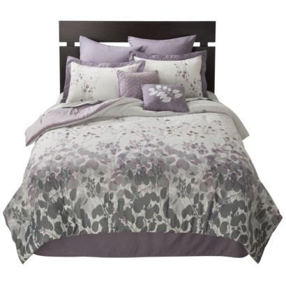 target grey bedding westwood 8 piece bedding set purple for purple and grey