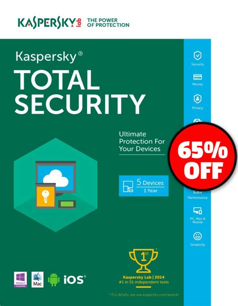 Anti Virus Kaspersky Security 5 Devices 1 Tahun Murah kaspersky total security 2017 multi device 5 device 1 year pc mac android