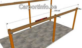 carport zelf maken stappenplan zelf je carport bouwen