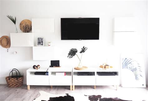 ikea besta builder 16 diy ikea tv stands and units with hacks shelterness