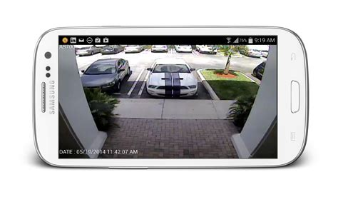 Alarm Cctv view security cameras from android app