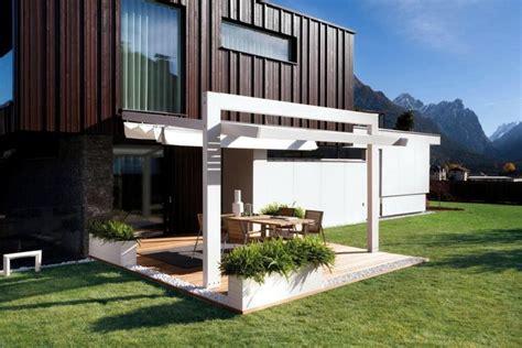 moderne überdachungen terrasse terrasse moderne photos fascinantes et id 233 es am 233 nagement