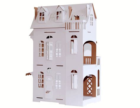 imagination dolls house casa delle bambole di cartone paper imagination tocati