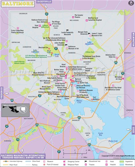 map usa baltimore maps update 21051488 baltimore tourist attractions map