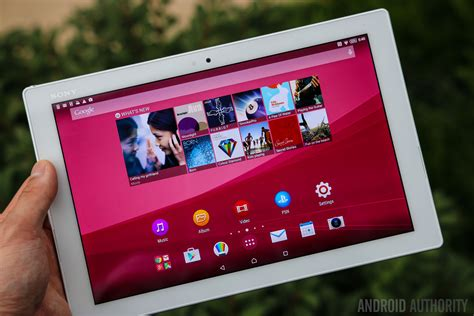 Tablet Sony Z4 sony xperia z4 tablet review