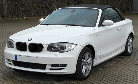 Bmw 1er Cabrio Wikipedia by File Bmw 118d Cabriolet Front 20100411 Jpg Wikimedia Commons