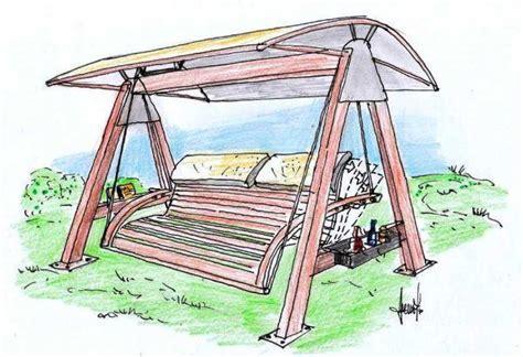 dondolo da terrazzo dondolo da giardino in legno un progetto multifunzione