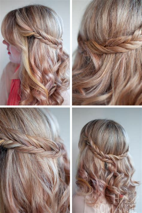 soft draid hairstyles the romantic soft curly fishtail half crown for long hair