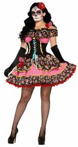 Day Of The Dead Costumes Day Of The Dead Senorita Costume Dia De Los Muertos Day Of The Dead Costumes