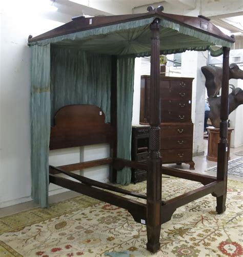 four post canopy bed mahogany four post canopy bed american early 19t