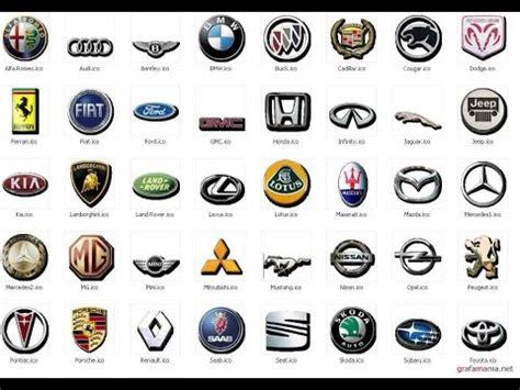 Car Company Types by что означают эмблемы различных автомобилей 1 часть