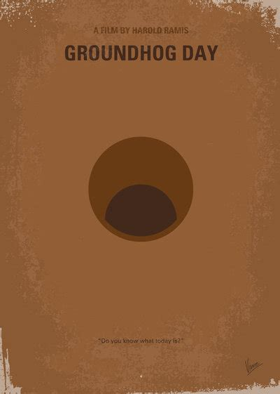 groundhog day poster no031 my groundhog minimal poster by chungkong on