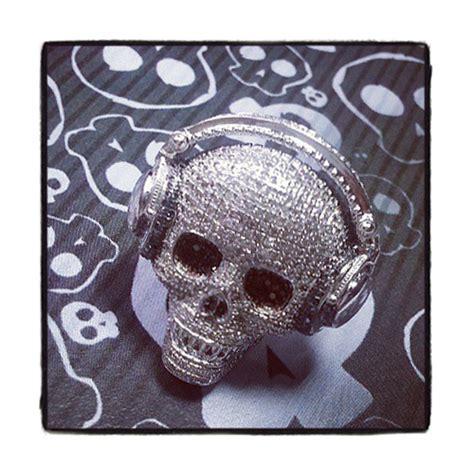 mens skull ring 19931 mens ring white gold 10k
