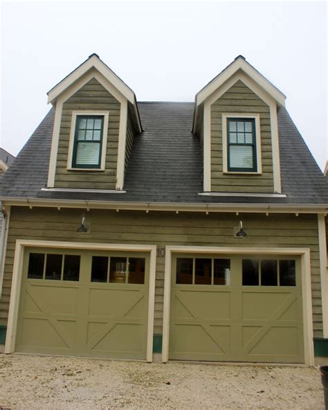 exterior house paint colors with black trim olive green and light combo trim garage doors with