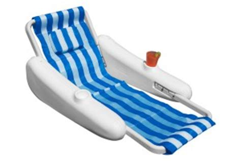 sunchaser floating lounge chair pool floats and inflatables pioneer family pools