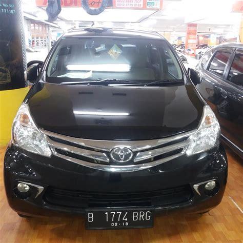 Alarm Mobil Toyota Avanza avanza g manual 2013 hitam mobilbekas