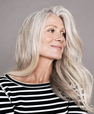 older models with gray hair gray hair hacks 5 genius ways to cover silver strands