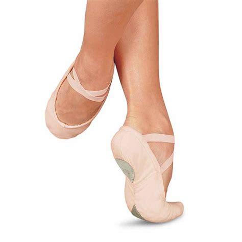 sansha pro 1c canvas split sole ballet shoes pink