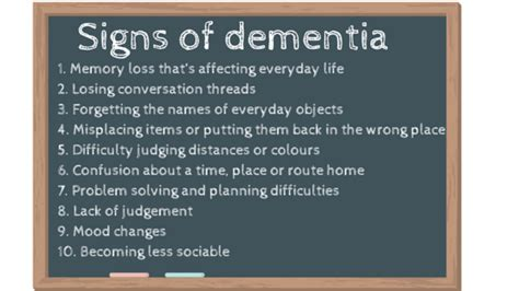 dementia symptoms what are the early signs and symptoms of dementia the unforgettable