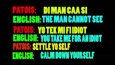 patois dictionary